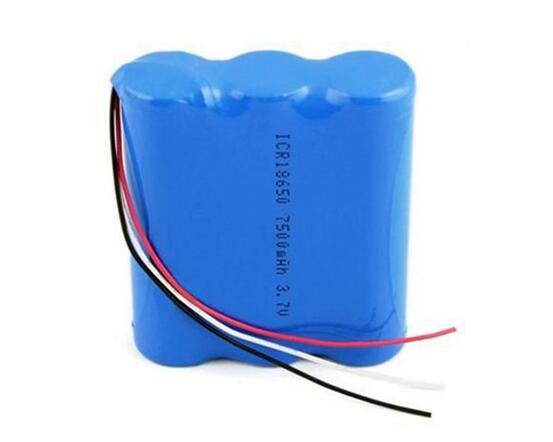 Rechargeable Lithium Battery pack 2s3p for Medical monitor